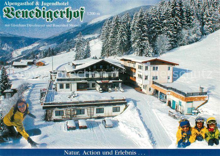 AK / Ansichtskarte Neukirchen_Grossvenediger Alpengasthof Jugendhotel Benedigerhof Neukirchen Grossvenediger