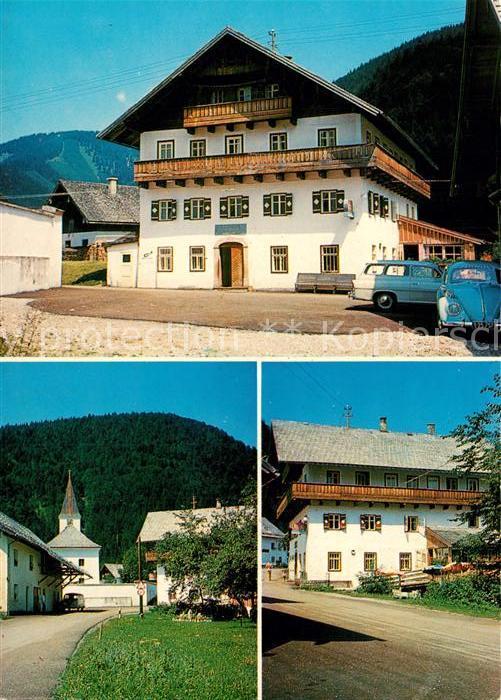 AK / Ansichtskarte Hintersee_Salzburg Gasthof Helminger  Hintersee Salzburg