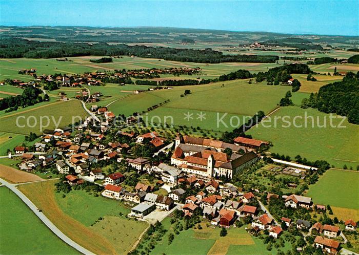 AK / Ansichtskarte Michaelbeuern Benediktinerabtei Fliegeraufnahme Michaelbeuern