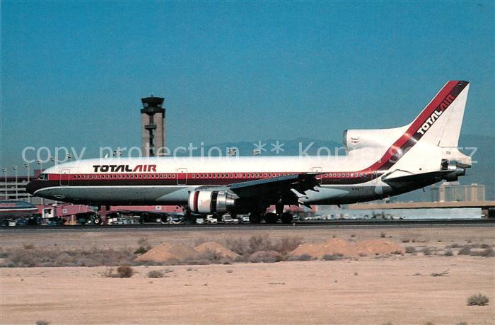 AK / Ansichtskarte Flugzeuge_Zivil Total Air Lockheed L 1011 1 N701TT c n 1041 Flugzeuge Zivil