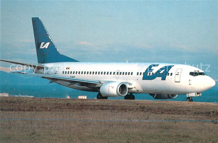 AK / Ansichtskarte Flugzeuge_Zivil European Airlines Boeing 737 3M8 OO LTE c n 24377 1719 Flugzeuge Zivil