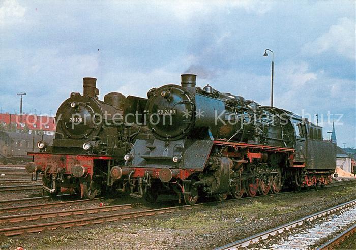 AK / Ansichtskarte Lokomotive Dampf Gueterzug Lokomotive 502460 Tenderlokomotive 78100  Lokomotive