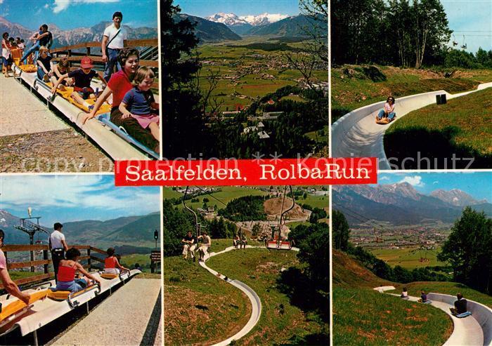 AK / Ansichtskarte Saalfelden_Steinernes_Meer Rolba Run Sommerrodelbahn Saalfelden_Steinernes