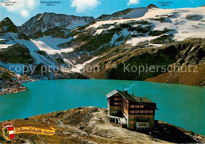 AK / Ansichtskarte Rudolfshuette Alpenhotel Weisssee Rudolfshuette