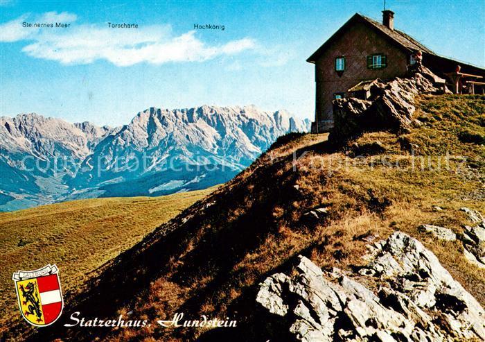 AK / Ansichtskarte Salzburg_Oesterreich Statzerhaus Hundstein Salzburg_Oesterreich