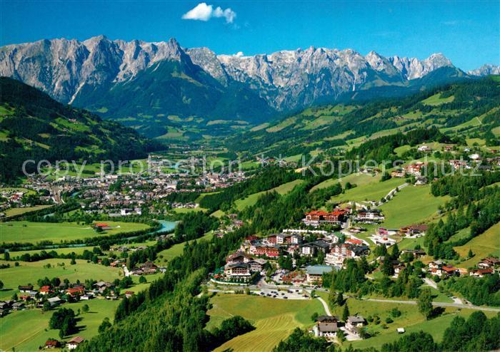 AK / Ansichtskarte Alpendorf_St_Johann Fliegeraufnahme Alpendorf_St_Johann