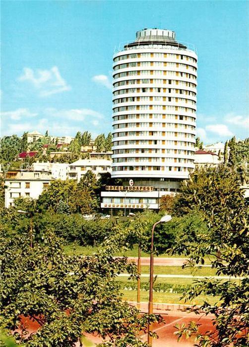 AK / Ansichtskarte Budapest Hotel Budapest Budapest