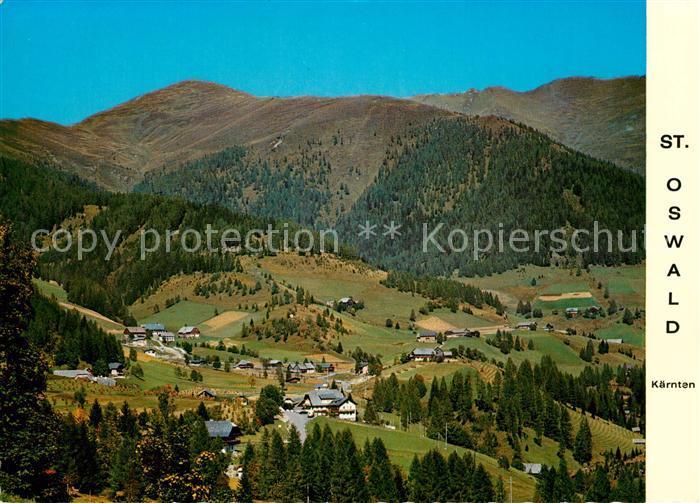 AK / Ansichtskarte St_Oswald_Kaernten Panorama St_Oswald_Kaernten