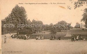 AK / Ansichtskarte Paris Ses Squares et ses Jardins Parc Montsouris Paris