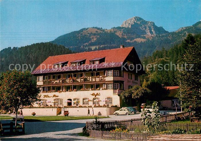 AK / Ansichtskarte Bayrischzell Hotel Alpenrose mit Wendelstein Mangfallgebirge Bayrischzell