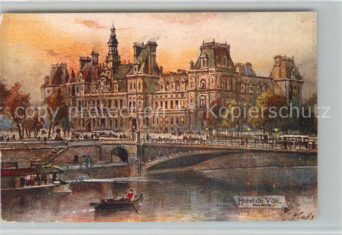 AK / Ansichtskarte Paris Hotel de Ville  Paris