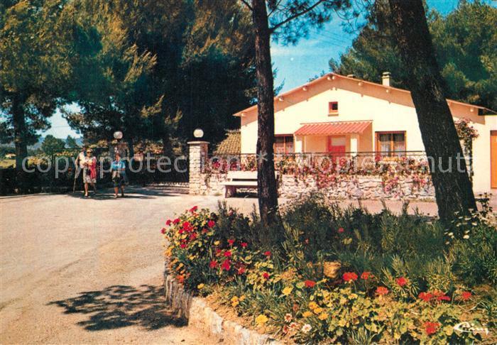 AK / Ansichtskarte La_Londe les Maures Vacances P.T.T. Entree du village de vacances La_Londe les Maures