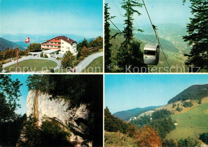 AK / Ansichtskarte Reigoldswil Hotel Wasserfallenhof Bergbahn Landschaftspanorama Reigoldswil
