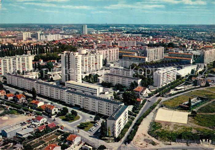 AK / Ansichtskarte Montreuil_Bobigny Fliegeraufnahme Montreuil Bobigny