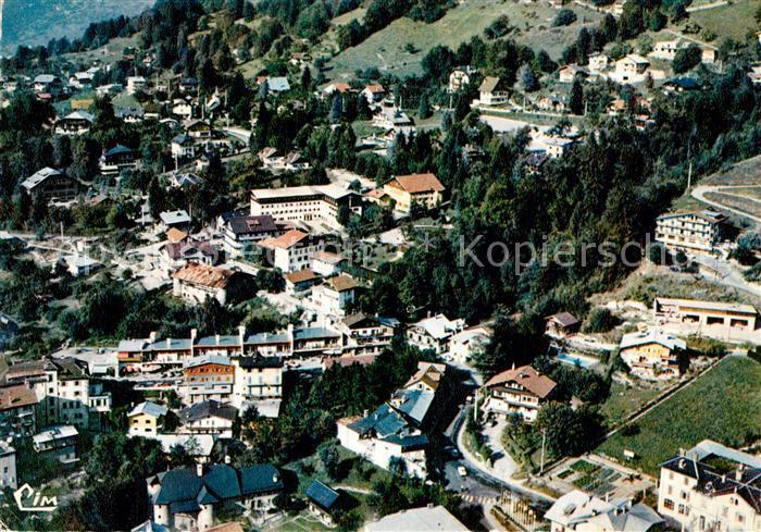 AK / Ansichtskarte Saint Gervais les Bains Fliegeraufnahme Centre de la Station Saint Gervais les Bains
