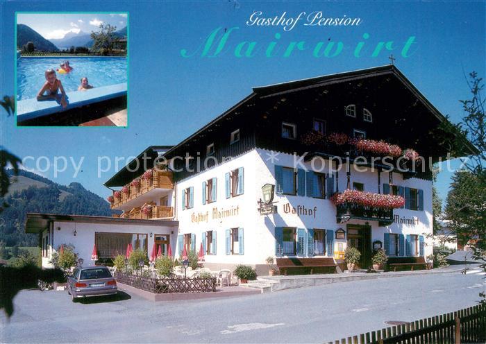 AK / Ansichtskarte Schwendt am Wilden Kaiser Gasthaus Pension Mairwirt Schwendt
