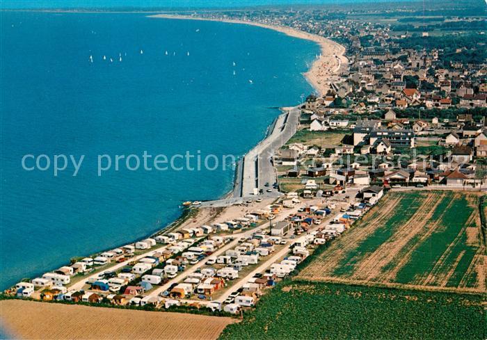 AK / Ansichtskarte Lion sur Mer Fliegeraufnahme Lion sur Mer