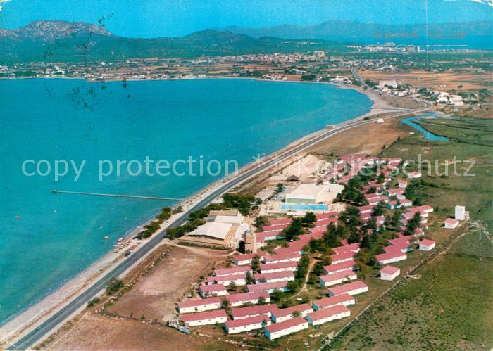AK / Ansichtskarte Alcudia_Mallorca Fliegeraufnahme Bahia Club Puerto Pollensa Alcudia Mallorca