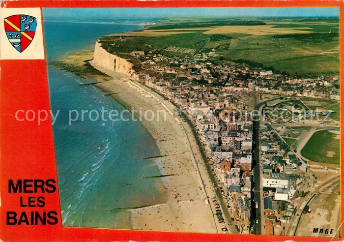 AK / Ansichtskarte Mers les Bains Fliegeraufnahme Mers les Bains