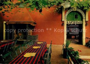 AK / Ansichtskarte Caprino Restaurant Felsenkeller Caprino