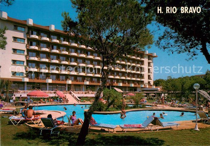 AK / Ansichtskarte Playa_de_Palma_Mallorca Hotel Rio Bravo Playa_de_Palma_Mallorca