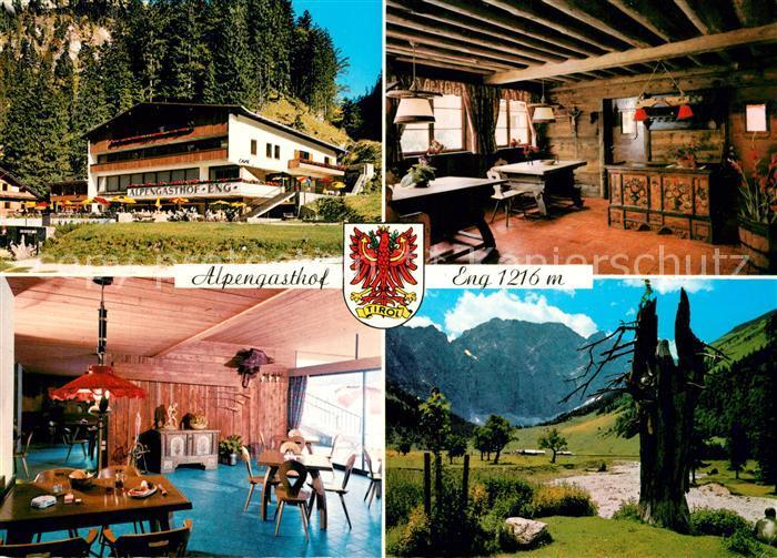 AK / Ansichtskarte Hinterriss_Tirol Cafe Gaestehaus Eng Hinterriss Tirol