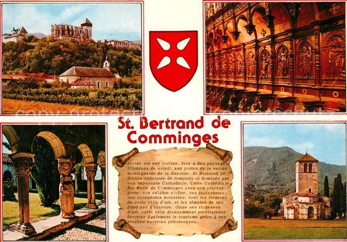 AK / Ansichtskarte Saint Bertrand de Comminges Kathedrale XII Kapelle Sankt Julien  Saint Bertrand de Comminges