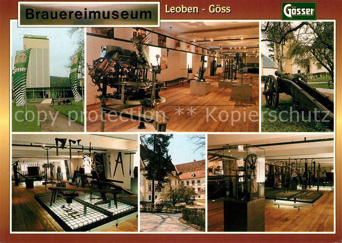 AK / Ansichtskarte Goess Brauereimuseum Goess