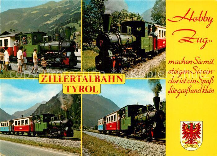 AK / Ansichtskarte Innsbruck Zillertalbahn Dampflokomotive Innsbruck