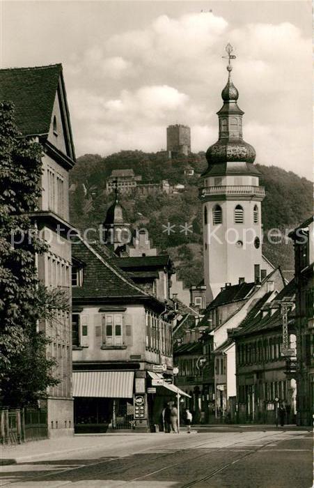 AK / Ansichtskarte Durlach Pfinztalstrasse mit Turmberg Durlach