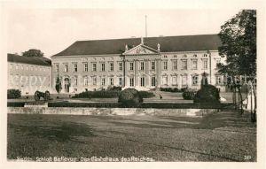 AK / Ansichtskarte Berlin Schloss Bellevue Das Gaestehaus des Reiches Berlin