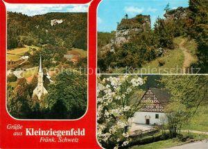 AK / Ansichtskarte Kleinziegenfeld Maria Hilf Kapelle Claudius Schwarzmuehle Kleinziegenfeld