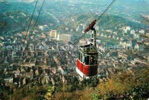 AK / Ansichtskarte Brasov Vedere panoramica Bergbahn Blick ins Tal auf die Stadt Brasov
