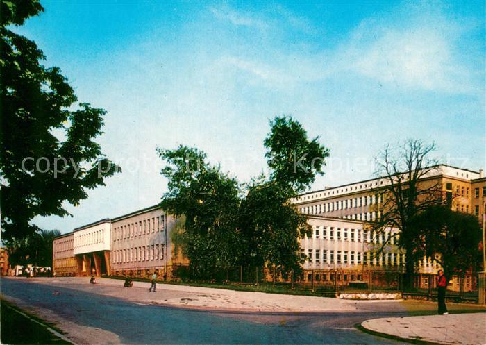 AK / Ansichtskarte Radom_Masowien Poliklinika Krankenhaus Radom Masowien