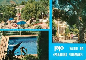 AK / Ansichtskarte Andora Paradiso Pinamare Hotel Swimming Pool Andora