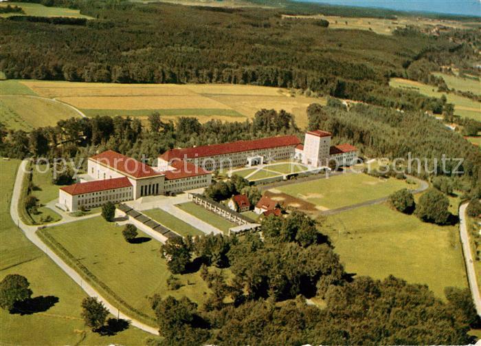 AK / Ansichtskarte Herrsching_Ammersee Zoll  und Finanzschule Fliegeraufnahme Herrsching Ammersee
