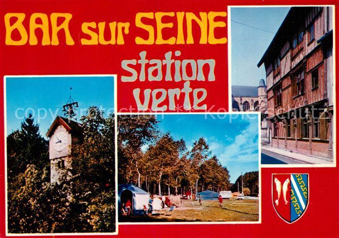 AK / Ansichtskarte Bar sur Seine Station Verte Campingplatz Bar sur Seine