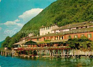AK / Ansichtskarte Caprino Felsenkeller Ristorante Dancing Lago di Lugano Luganersee Caprino