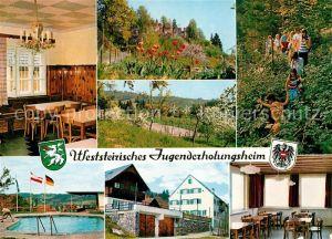 AK / Ansichtskarte Gaisfeld_Krottendorf Weststeirisches Jugenderholungsheim Schullandheim Pension Gaisfeld Krottendorf