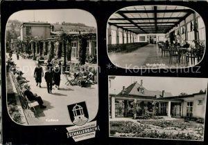 AK / Ansichtskarte Schallerbach_Bad Kurhaus Wandelhalle Rosengarten Schallerbach_Bad