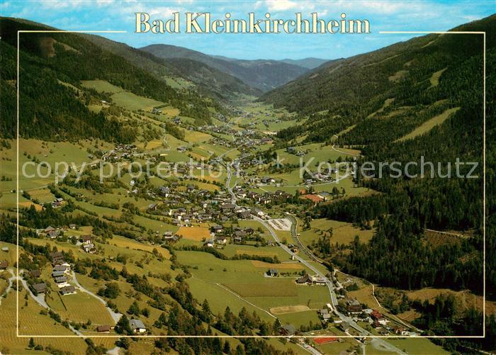 AK / Ansichtskarte Bad_Kleinkirchheim_Kaernten Alpenpanorama Fliegeraufnahme Bad_Kleinkirchheim