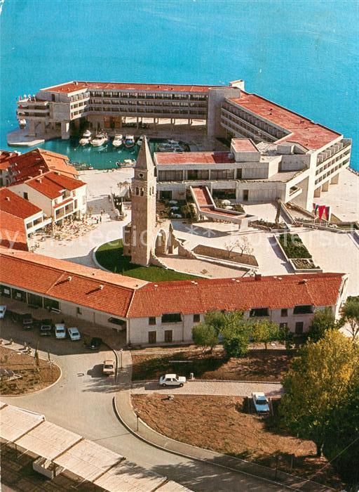 AK / Ansichtskarte Portoroz Hotelsko naselje Bernardin Hotel Fliegeraufnahme Portoroz