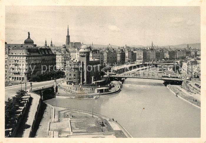 AK / Ansichtskarte Wien Franz Josefs Kai  Wien