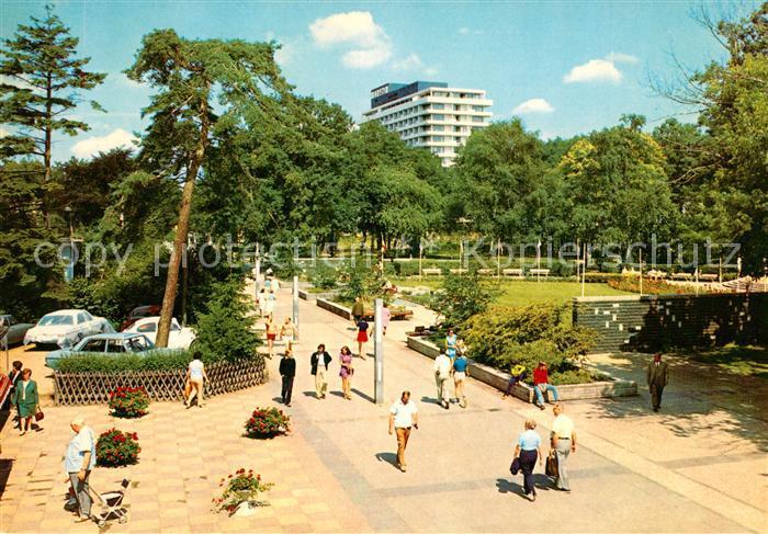 AK / Ansichtskarte Timmendorfer_Strand Kurzentrum mit Hotel und Kongresszentrum Maritim Timmendorfer_Strand