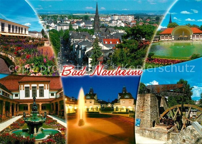 AK / Ansichtskarte Bad_Nauheim Panorama Hessisches Staatsbad Muehlrad Bad_Nauheim