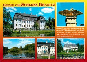 AK / Ansichtskarte Cottbus Schloss Branitz Details Tumulus Begraebnisstaette des Fuersten Pueckler Muskau Cottbus
