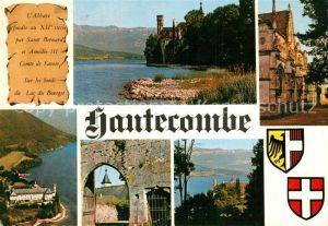 AK / Ansichtskarte Les_Echelles Abbaye d'Hautecombe et le Lac du Bourget Les_Echelles