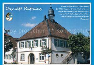 AK / Ansichtskarte Hassloch_Pfalz Altes Rathaus Hassloch Pfalz