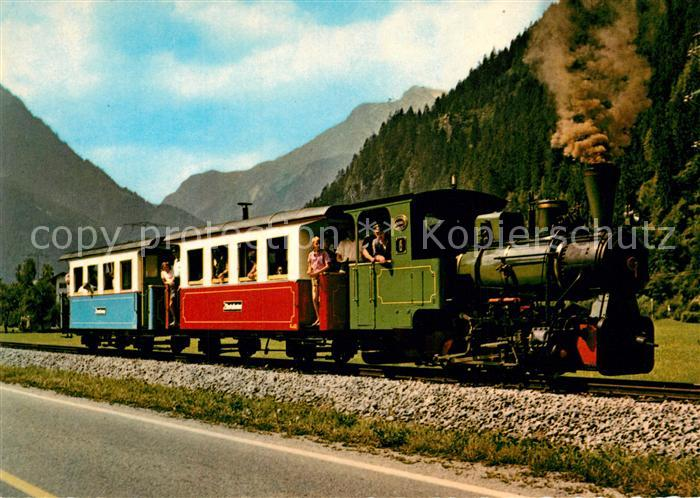 AK / Ansichtskarte Lokomotive Zillertalbahn Lok 6  Lokomotive