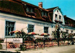 AK / Ansichtskarte Sankt_Margarethen_Burgenland Restaurant Pranger Backhuhn Sankt_Margarethen